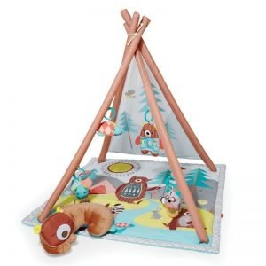 Aktivitetstæppe / Legetæppe Til Baby - Skip Hop - Camping Cubs